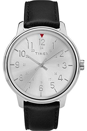 Timex Men's Core 43 mm Leather Strap Watch TW2R85300