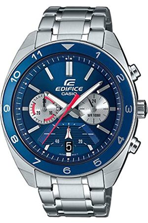 Casio Men's Analogue Japanese Quartz Watch with Stainless Steel Strap EFV-590D-2AVUEF