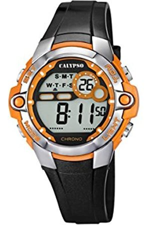 Calypso Unisex Digital Watch with LCD Dial Digital Display and Plastic Strap K5617/4