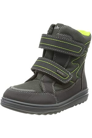 Richter Kinderschuhe Boys Snow Boots, (Ash/Brnyellow 6300)