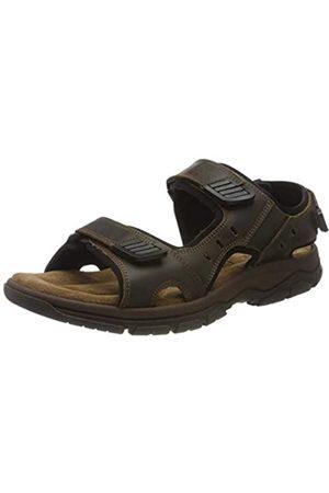Rohde Men's Cortina Platform Sandals, (Espresso 71)