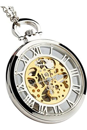 Sparks of Time Unisex Analogue Mechanical Watch with Stainless Steel Strap 214
