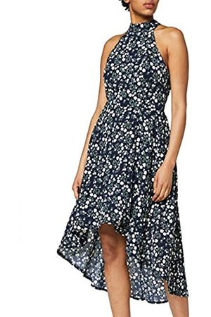 Mela Women's Ditsy Neck High Low Dress Casual