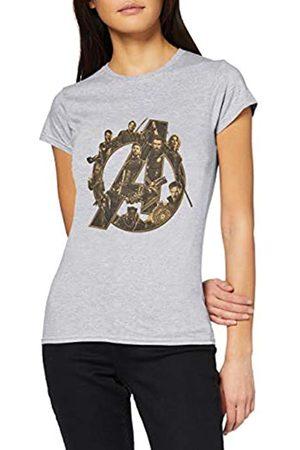 Marvel Women's Infinity War Avengers Logo T-Shirt