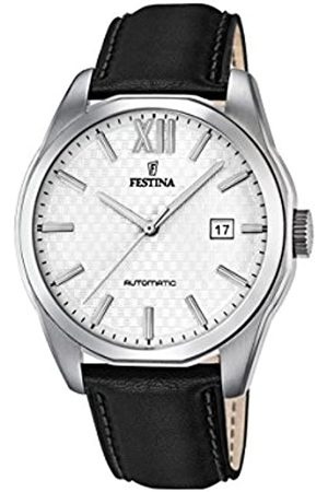 Festina Men's Automatic Watch with Dial Analogue Display and Leather Strap F16885/2