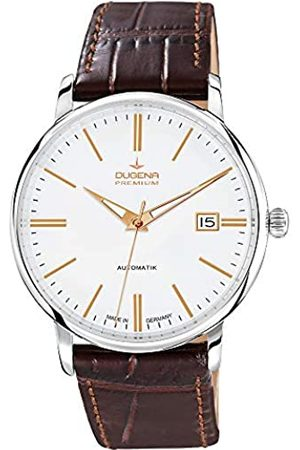 Dugena Gents Watch XL Analogue Automatic Leather Premium 7000191