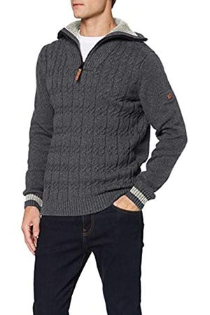 camel active Men's Troyer Cable Jumper