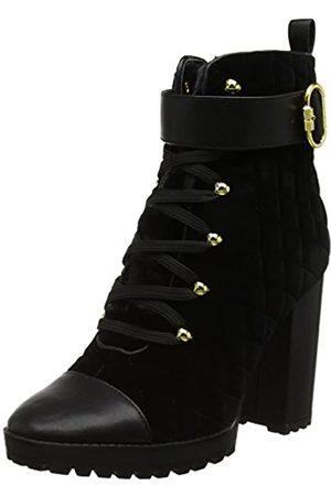 Nine West Women's HISANI Combat Boots, /Multi Fabric