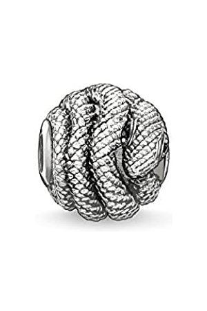 Thomas Sabo Women Men-Bead Snake Karma Beads 925 Sterling blackened Zirconia K0066-051-11