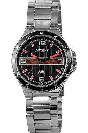 Akzent 88295 – Wrist Watch Metal Band –