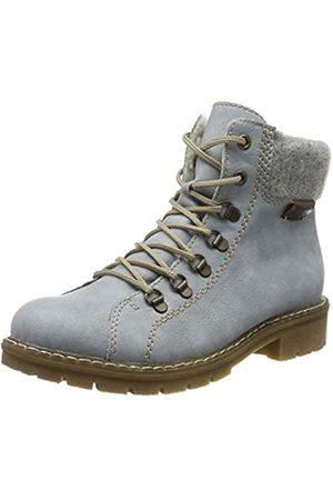 Rieker Women's Herbst/Winter Ankle Boots, (Sky/Fog/Kastanie 10)