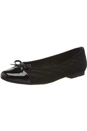 Jana 100% comfort Women's 8-8-22109-23 Ballet Flats, ( 001)
