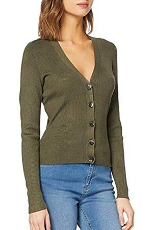 Object NOS Women's OBJNINA L/S Short Knit Cardigan NOOS Sweater
