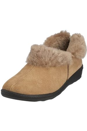 Romika Romilastic 102, Women's Warm lined low house shoes, (natur 201)