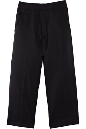Blue Max Banner Junior Boy's Fulham Flat Front with Fly School Trousers