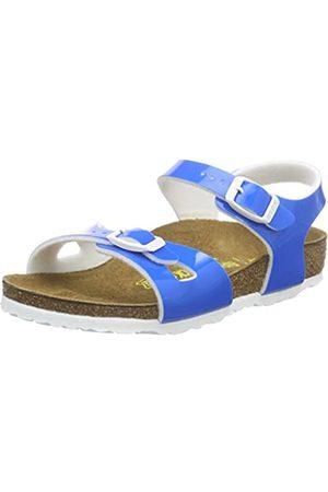 Birkenstock Rio, Unisex Kids' Open Toe Sandals, (Lack Neon )