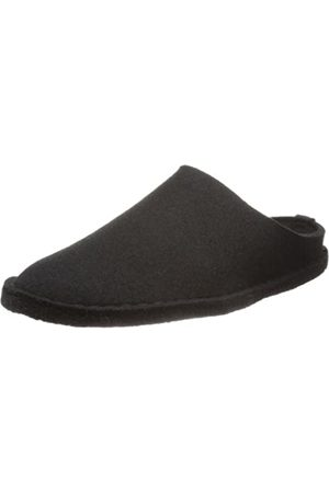 HAFLINGER Flair-Soft, Unisex - Adult Slippers, Black - Schwarz (schwarz 3)