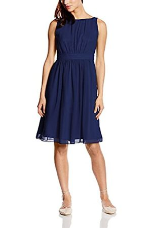 Swing Women's Cocktail Sleeveless Dress with ruffles