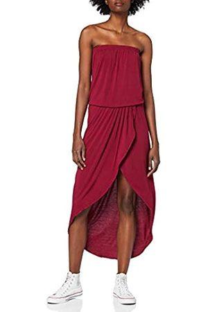 Urban classics Women's Ladies Viscose Bandeau Dress Party
