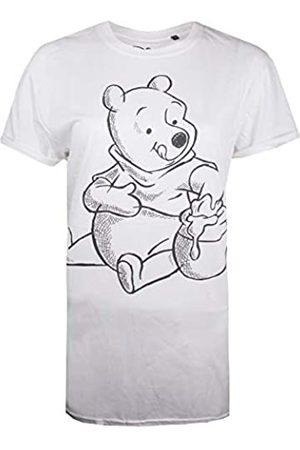 Disney Women's Winnie The Pooh-Sketch T-Shirt