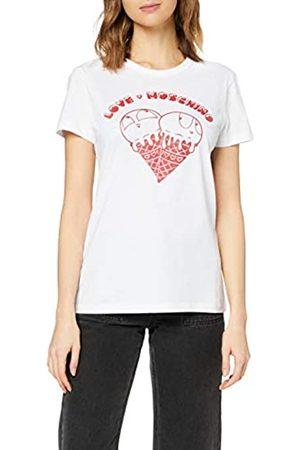 Love Moschino Women's T-Shirt_Heart-Shaped Ice Cream&Logo