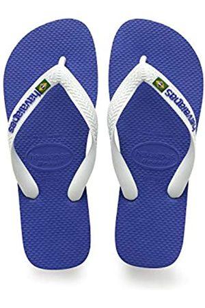 Havaianas Kid's Brazilianasil Logo Flip Flops, (Marine ),13 UK