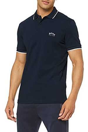 HUGO BOSS Men's Paul Curved Polo Shirt