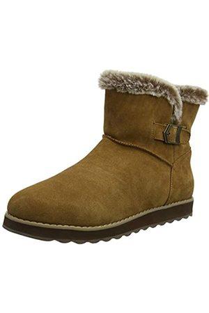 Skechers KEEPSAKES 2.0, Women Ankle Boots, (Chestnut Suede Csnt)