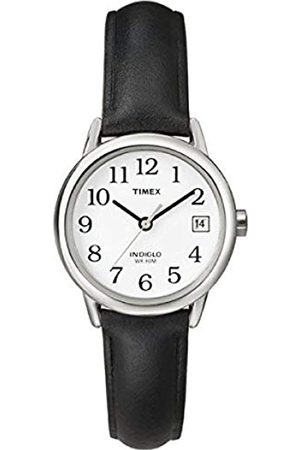 Timex Easy Reader 25 mm Leather Strap Watch T2H331