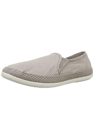 Wamba By Victoria Unisex Adults' André Elasticos Lona Tintada Trainers, (Stone 88)