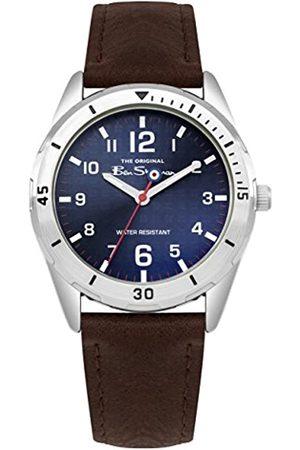 Ben Sherman Boys Analogue Quartz Watch with PU Strap BSK002UBR G