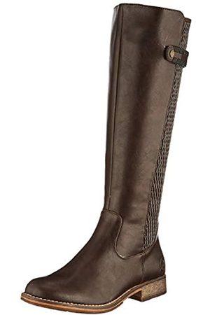 Rieker Women's Herbst/Winter High Boots, (Kastanie/Moro/Schwarz 25)