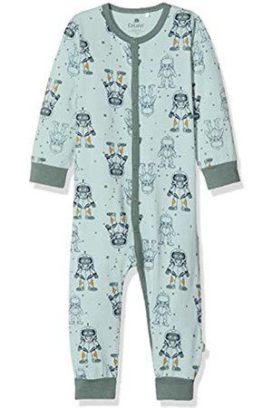Celavi Baby Boys Schlafstrampler in Weicher Qualität Sleepsuit, (Grün)