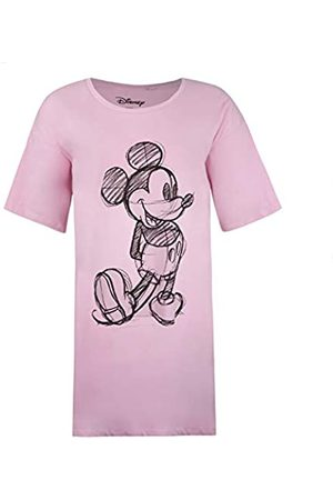 Disney Women's Mickey Sketch Sleep T-Shirt Nightie
