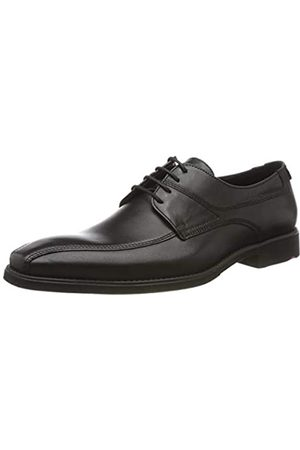 Lloyd Men's shoe GRADY, classic business leather shoe with rubber sole, (Schwarz 0)