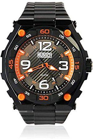 Munich Unisex Adult Analogue Quartz Watch with PU Strap MU+110.1B