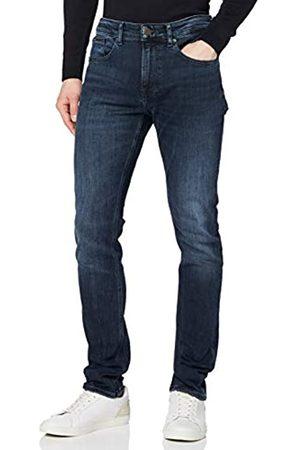 Tommy Hilfiger Men's Austin Slim Tapered WLBLK Straight Jeans