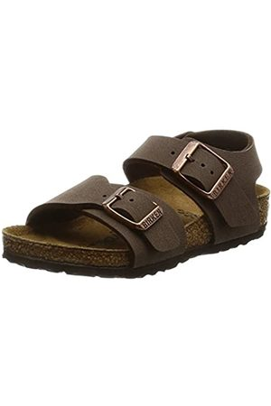 Birkenstock New York, Unisex-Child Sandals, (Mocha)