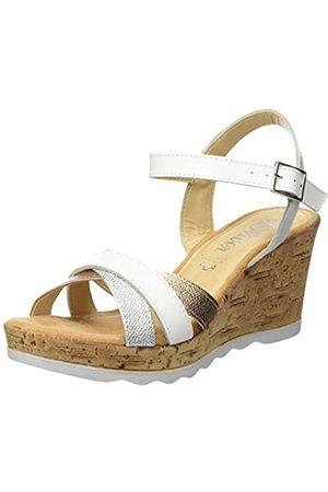 s.Oliver Women's 5-5-28301-22 Sling Back Sandals