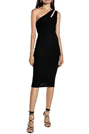 Ivy Revel DE Damen Cutout One Shoulder Dress Partykleid