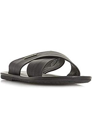 Dune Men's Izzard Flip Flops, ( Leather)