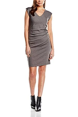 Kaffe Women's 501000 Dress, -Grau (Dark Melange 50016)