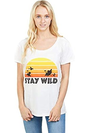 Disney Women's Lion King Stay Wild T-Shirt