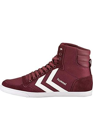 Hummel Unisex Adults Slimmer Stadil High Hi-Top Trainers, (Cabernet 3661)