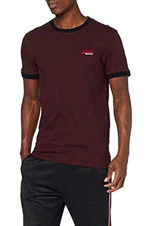 Superdry Men's Orange Label Cali Ringer Tees T-Shirt