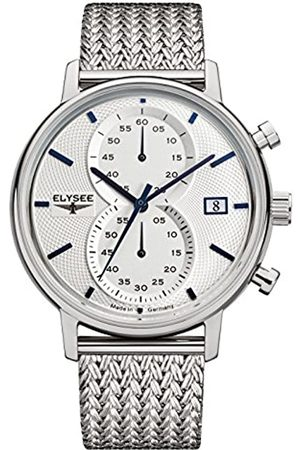 ELYSEE Unisex Adult Analogue Quartz Watch with Stainless Steel Strap 83820M