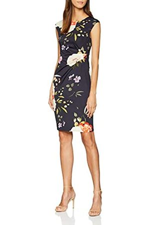 Dorothy Perkins Women's Billie and Blossom Bodycon Style Party Dress, (Navy)