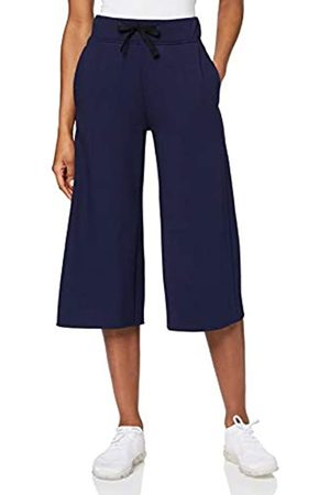 AURIQUE Amazon Brand - Women's Cropped Super Soft Sports Trousers, 8
