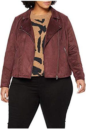 Simply Be Women's Ladies Suedette Biker Jacket
