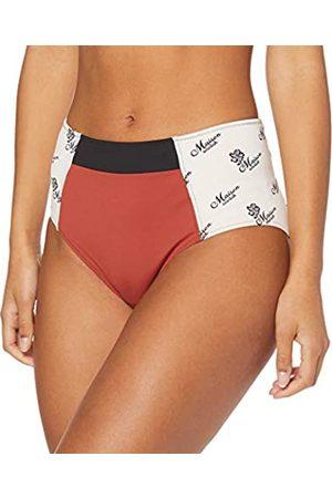 Scotch&Soda Women's Colourblocked High Rise Bikini Bottom
